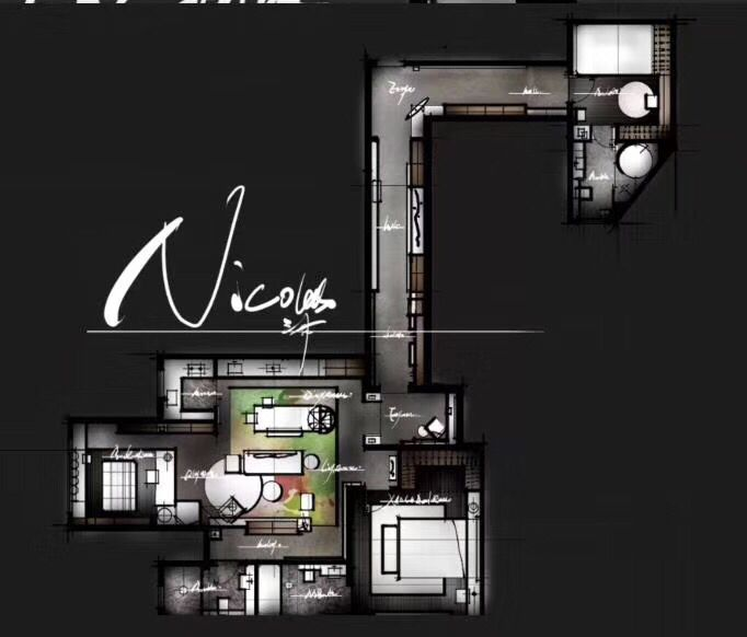 走廊变画廊的设计方案
