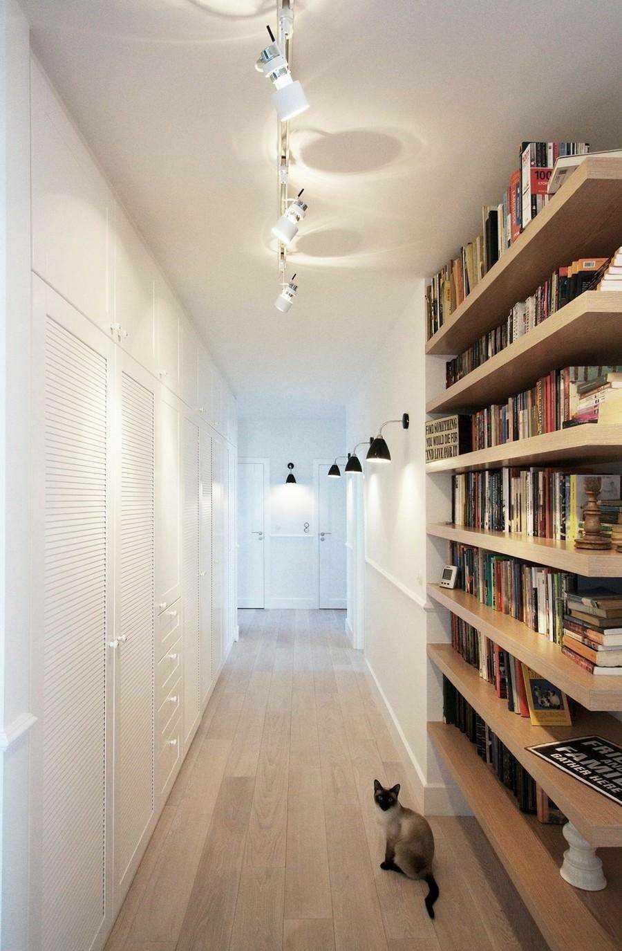 楼道读书区