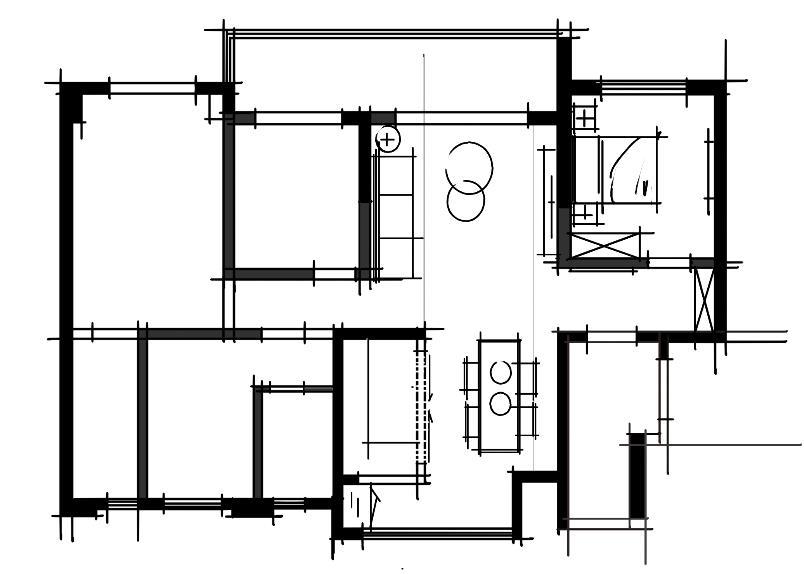 碧桂园御府130客厅布置图