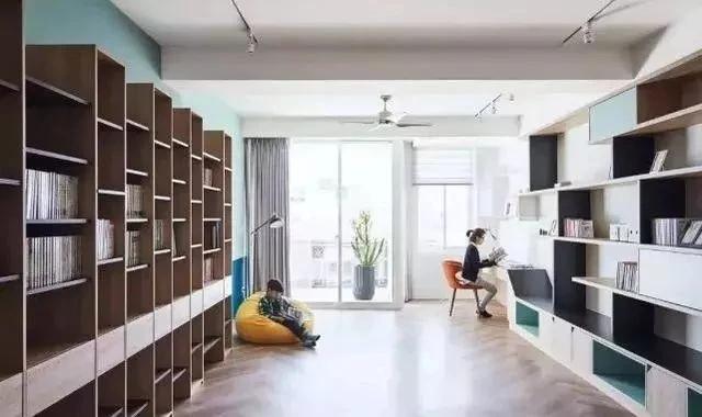 书架电视墙