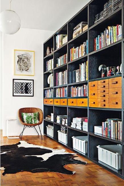 图书馆式客厅