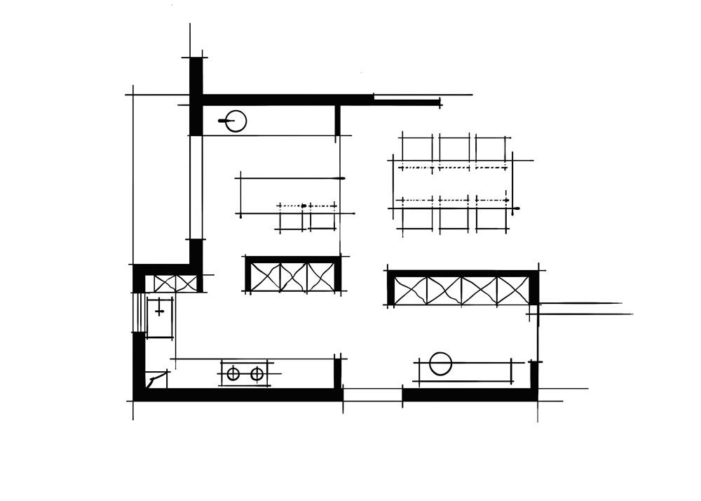 环绕动线餐厨空间