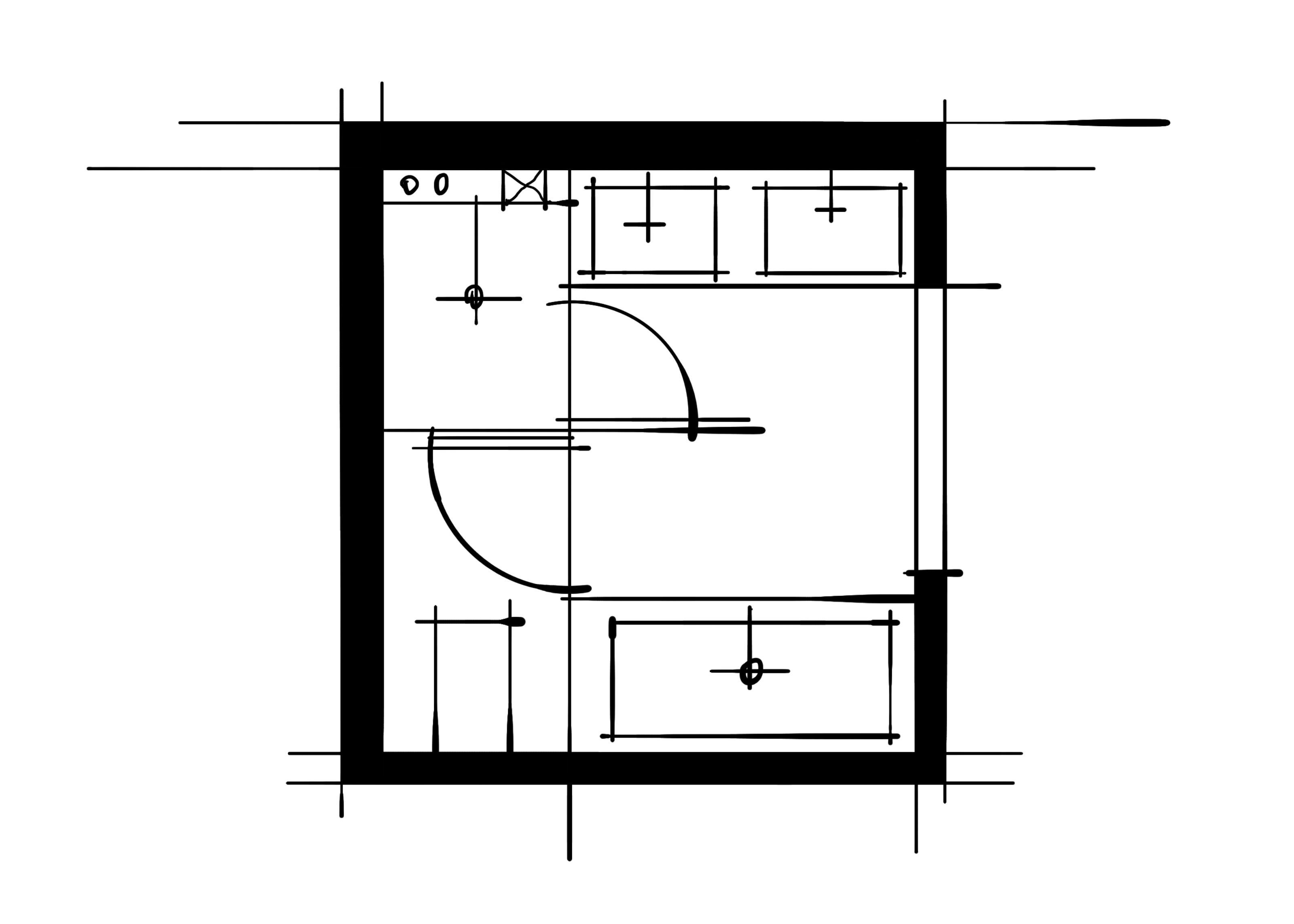 室内设计八大空间的十种做法-主卫(三分玻璃空间)
