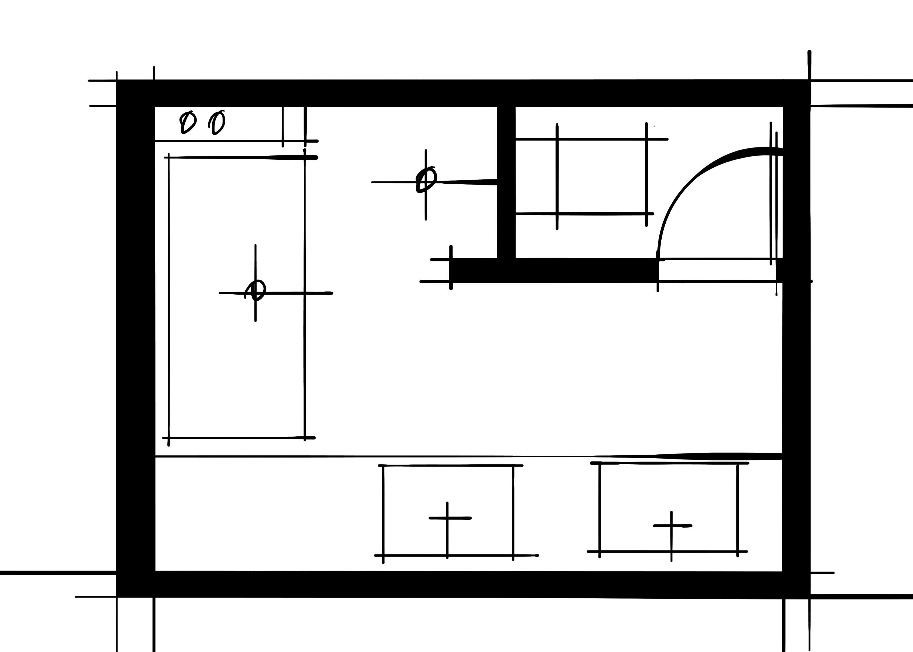 室内设计八大空间的十种做法-主卫(加墙空间分离)