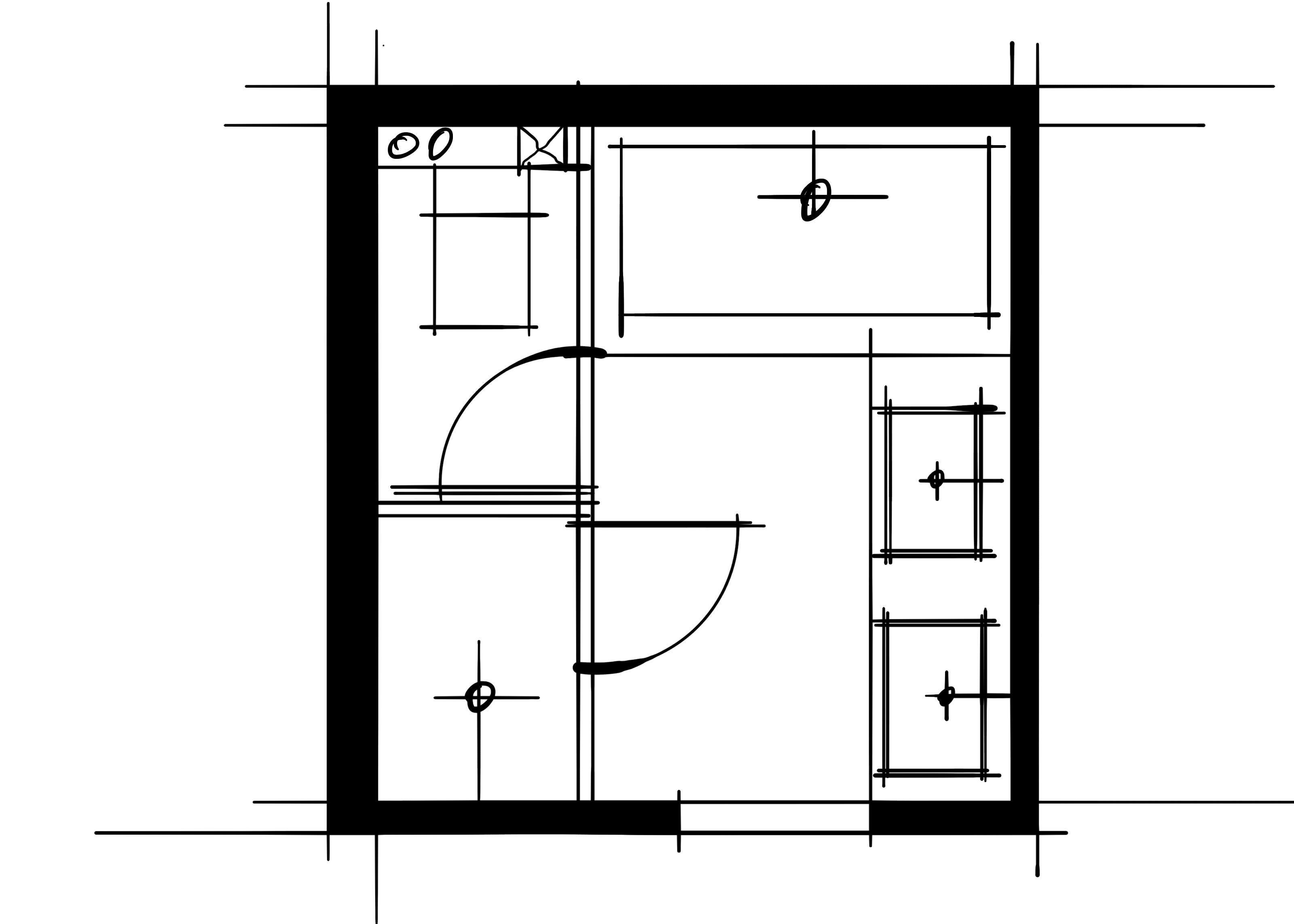 室内设计八大空间的十种做法-主卫(平行空间的组合关系提高使用效率)