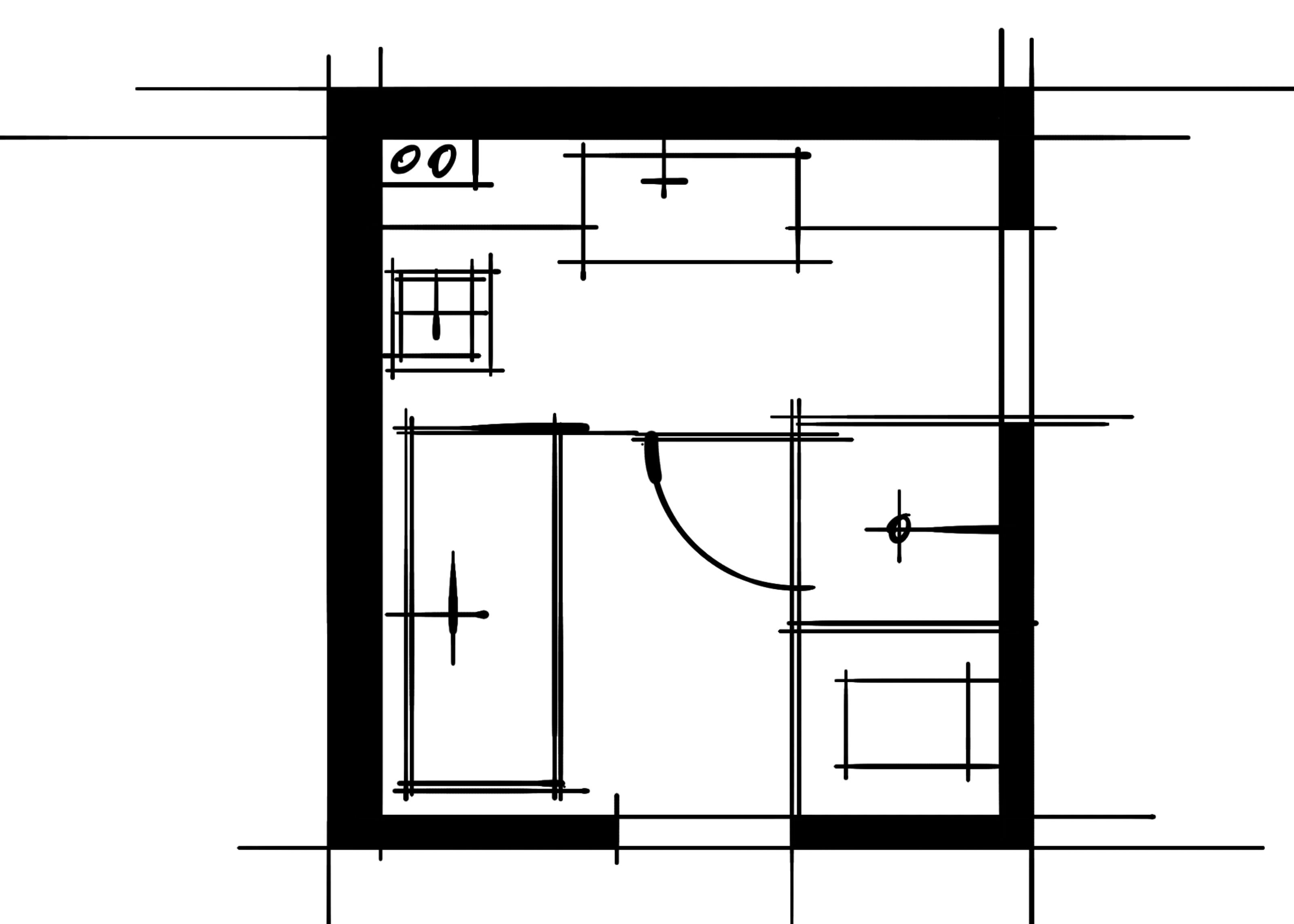 室内设计八大空间的十种做法-主卫(端景空间组合)