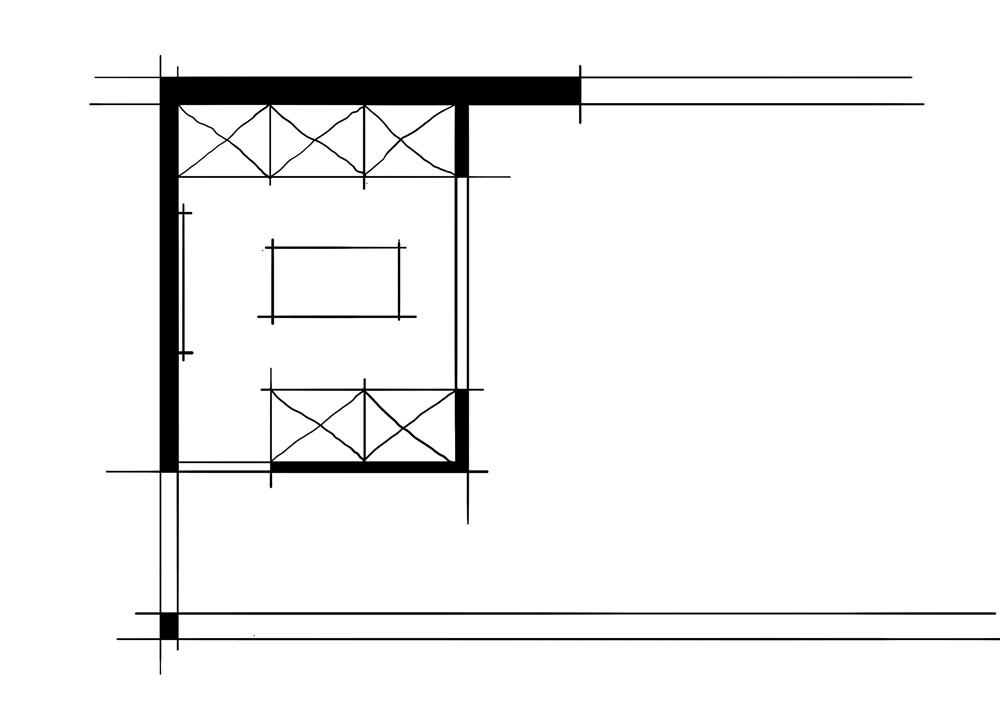 室内设计八大空间的十种做法-衣帽间(环绕动线加对景空间组合关系)