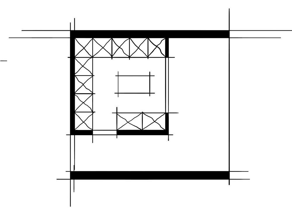 室内设计八大空间的十种做法-衣帽间(双动线空间组合的布置方法)