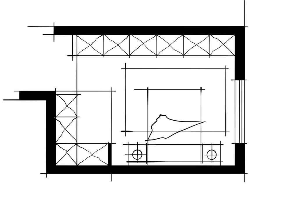 室内设计八大空间的十种做法-客卧(大衣帽间空间组合)